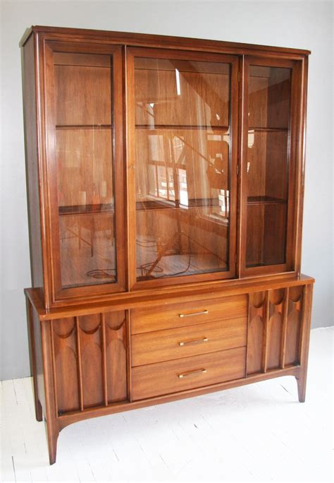 kent coffey mid century modern china cabinet 600 00 via