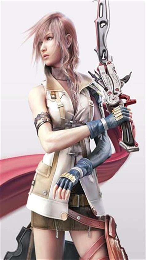 wallpaper iphone 5 final fantasy final fantasy xiii and lightning game iphone wallpapers