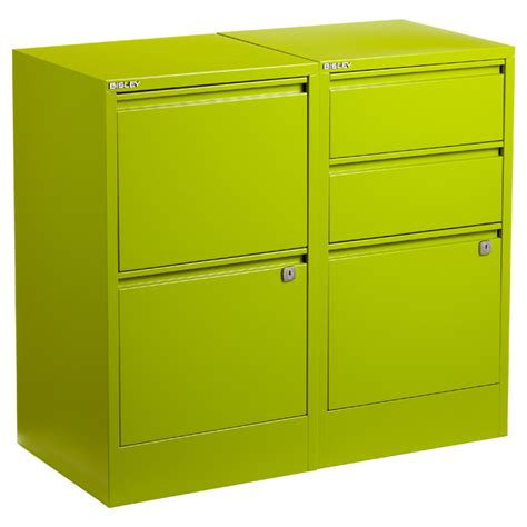 green bisley 174 2 3 drawer file cabinets the container