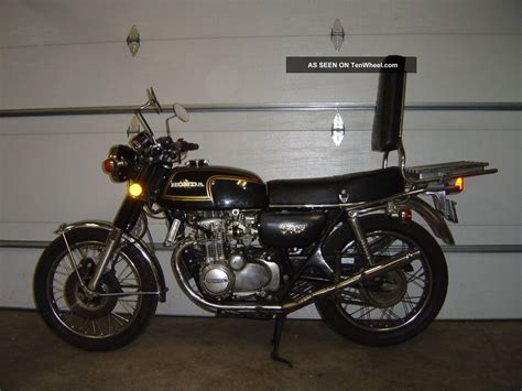 buy 1974 honda cb 350 classic vintage on 2040 motos 1974 honda cb 350 f cb350f cb350 350f four vintage running