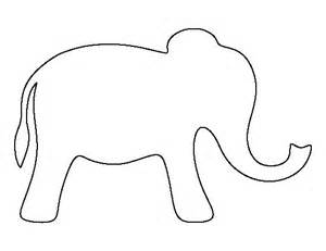 Baby Elephant Template by 17 Best Ideas About Elephant Pattern On