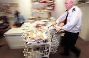 mail room hours staff banned from getting parcels delivered to them at work daily mail