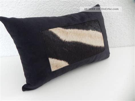 zebra kissen tierfell sofa fellkissen afrika deko geschenk