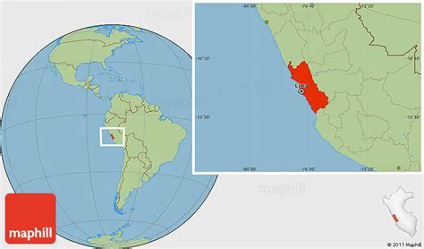 where is lima peru located on a world map savanna style location map of lima