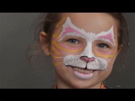 face painting  kids catty kitten halloween costume