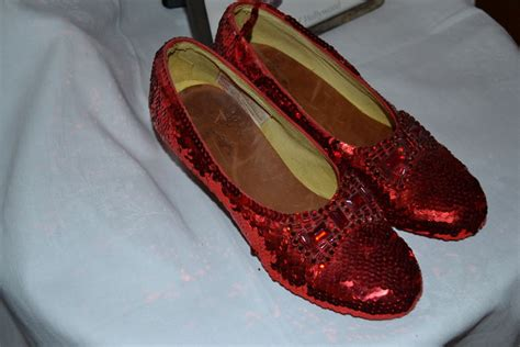 ruby slippers auction price the wizard of oz judy garland dorothy s ruby slippers