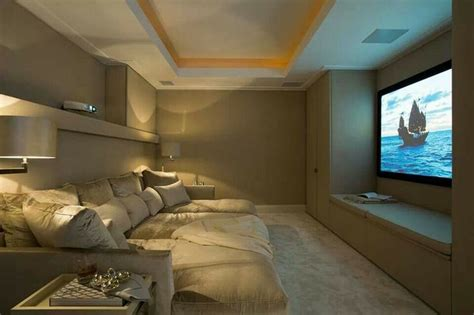 theatre with beds home theater bed yes dream home pinterest