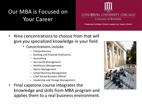 Concordia Chicago Mba by A Concordia Chicago Mba For International Students