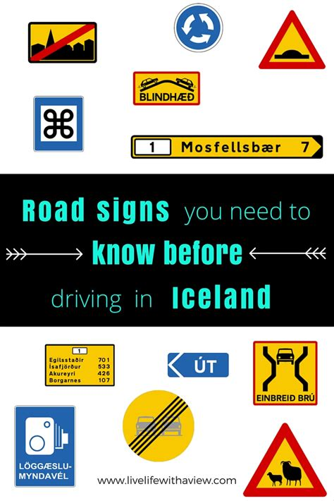 everything you need to know before you sign a wedding road signs you need to know before driving in iceland