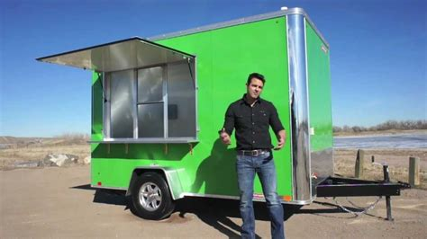 how to build a concession 7 x 12 concession trailer youtube