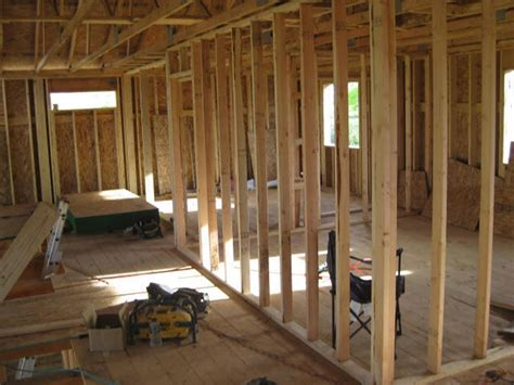 framing interior basement walls wall framing strategies wall corners
