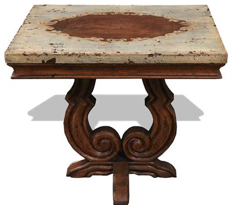 tuscan accent tables tuscan accent table san leandro celeste distressed