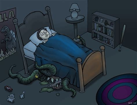 monster under the bed freaks mutants and monsters the thing under the bed