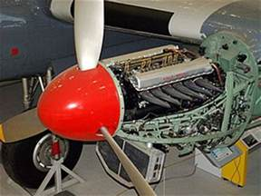 Rolls Royce Rotary Engine Aircraft Engine