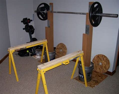 homemade bench press stand 17 best ideas about bench press rack on pinterest bench press weights squat stands
