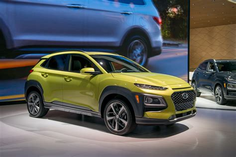 Best Compact Crossover 2018 by 2018 Hyundai Kona Small Crossover Debuts At La Auto Show