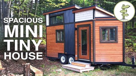 tiny house living tuesday s tiny house tour smallest tiny house with all the comforts of home full
