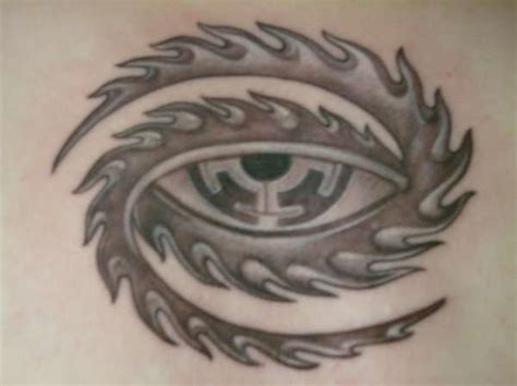 tool eye tattoo tool eye