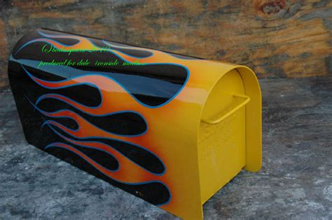 unique paint custom paint mailboxes by bad ass paint