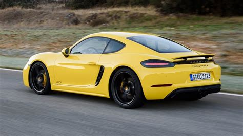 porsche cayman yellow 2018 porsche 718 cayman gts racing yellow