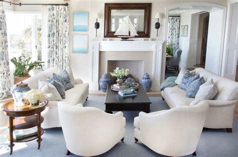 cozy coastal house style living room