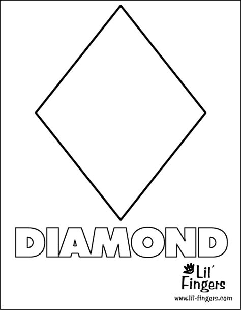 diamond free coloring pages
