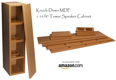 Build Your Own Stereo Cabinet by Diy Knock Speaker Kits