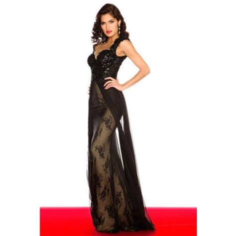 dress cap sleeve beaded sequin gown sheath cap sleeve backless black lace beaded