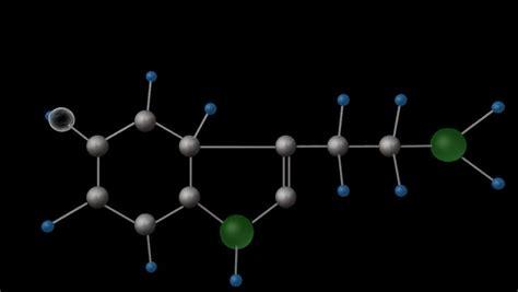 chemical formula structure  element serotonin seratonin