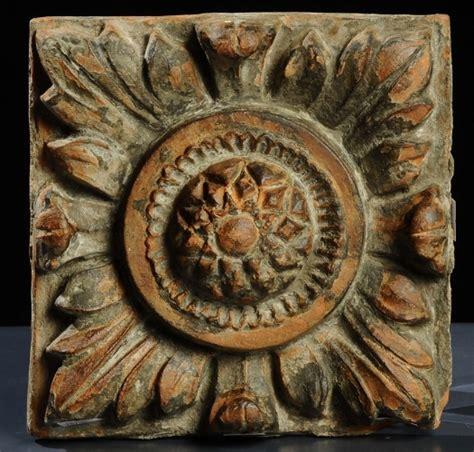 piastrelle terracotta piastrella in terracotta xv secolo antiquariato e