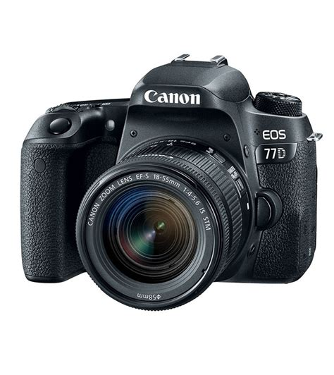 canon with price canon eos 77d with kit ef s 18 55mm is price list