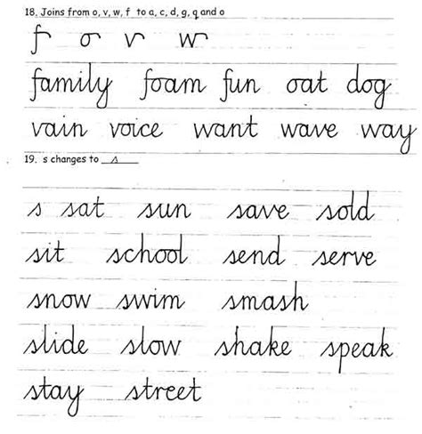 printable joined up handwriting worksheets letters worksheets 187 joining letters worksheets