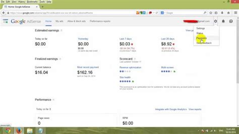 adsense youtube payout videos how to make money online with google adsense and