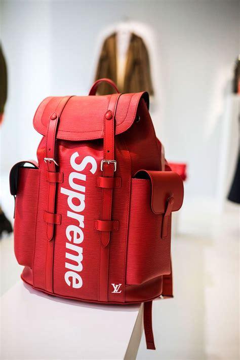 Tas Ransel Supreme Louis Vuitton Backpack Lv 1 louis vuitton x supreme the best pieces supreme louis