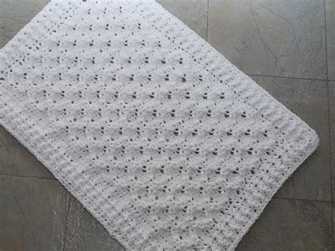 pattern bath rugs crochet and knitting picmia