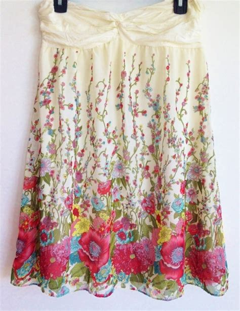 Bando Forever21 Flower Pattern Hair Band white floral strapless forever21 dress on storenvy