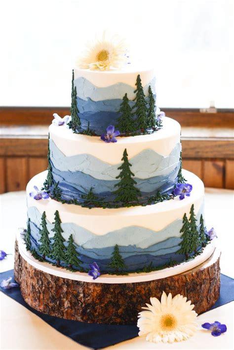 Wedding Cake Mountain by Mountain Wedding Ideas 50 To Inspire Emmaline