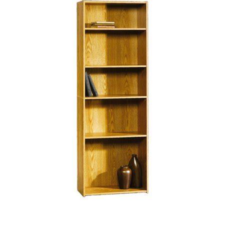 sauder beginnings 5 shelf bookcase oregan oak walmart