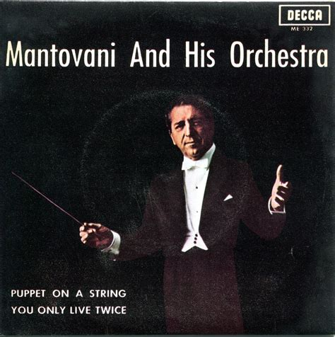 mantovani and his orchestra excellent ephemera from you only live