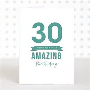 thirty birthday cards 30th birthday gift ideas for you should not miss