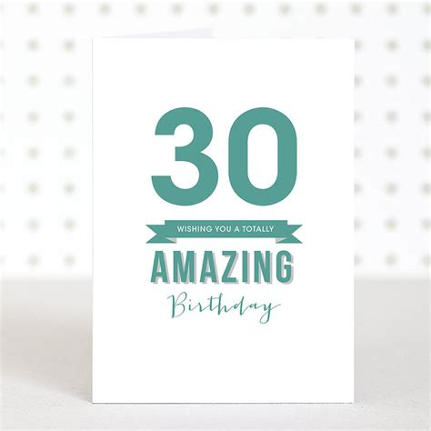 30th birthday card template amazing 30 birthday card by doodlelove