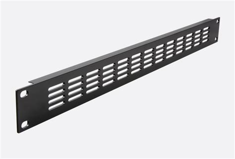 Rack Ventilation by Rackvent Rack Ventilation Panel 1u Aluminium Slotted