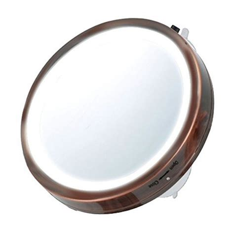 Vanity Mirror Size by Travel Size Led Vanity Mirror 6 Inches Mli25