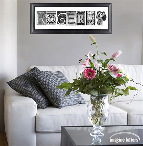 alphabet photos home decor design ideas art letters home