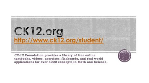 ck 12 foundation free online textbooks flashcards free resources for blended and flipped learning
