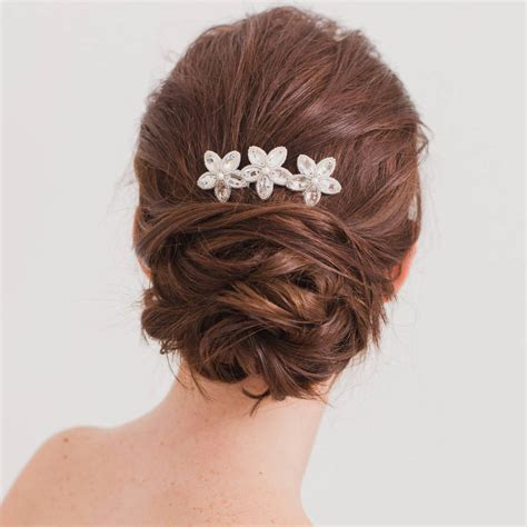 wedding hair comb with chains by britten weddings wedding hair comb by britten weddings notonthehighstreet com