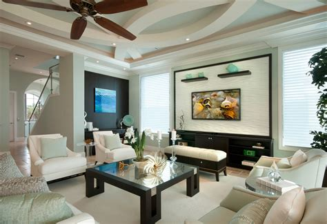Big Living Room Fan Designer Ceiling Fans Living Room Contemporary With Black