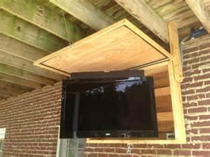 Outdoor Bar Cabinet Doors Best 25 Outdoor Tv Mount Ideas On Flat Screen Wall Mount Now Tv Box Hack And