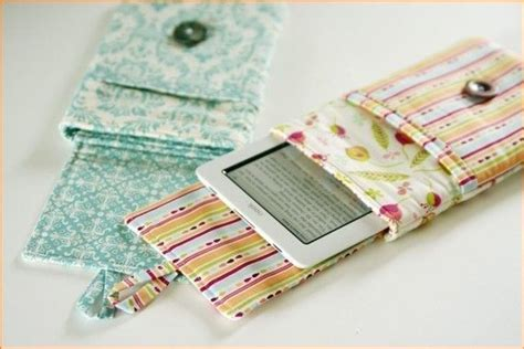 sewing pattern kindle cover instant download padded e reader sleeve pdf sewing patern