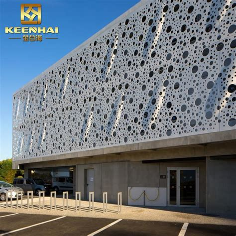 Solution Anti Humidité Maison 3500 by Pvdf Coated Exterior Aluminum Metal Curtain Wall Facade